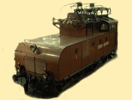 Elektro-Lokomotive «EVA»